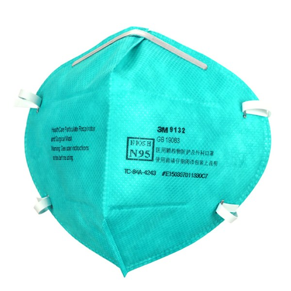 3M 9132 Healthcare Particulate Respirator NIOSH N95 Surgical Mask