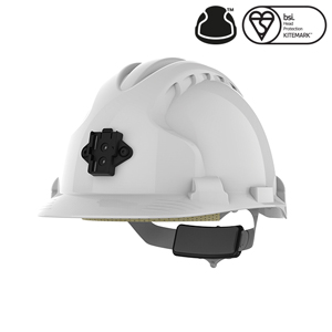 Railway Safety Helmet EVO8 White