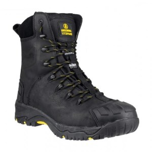 Amblers Black Safety Boot- FS999