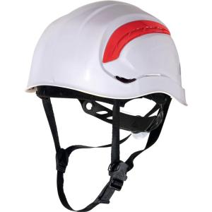 Granite Wind White safety Helmet with 8 fixing points