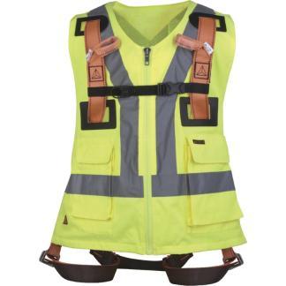 HAR12GILJA Fall arrest Harness with Hi-Vis Vest
