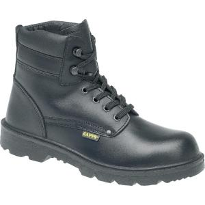 LH832 SM S3 Delta Plus Capps Black Safety Boot