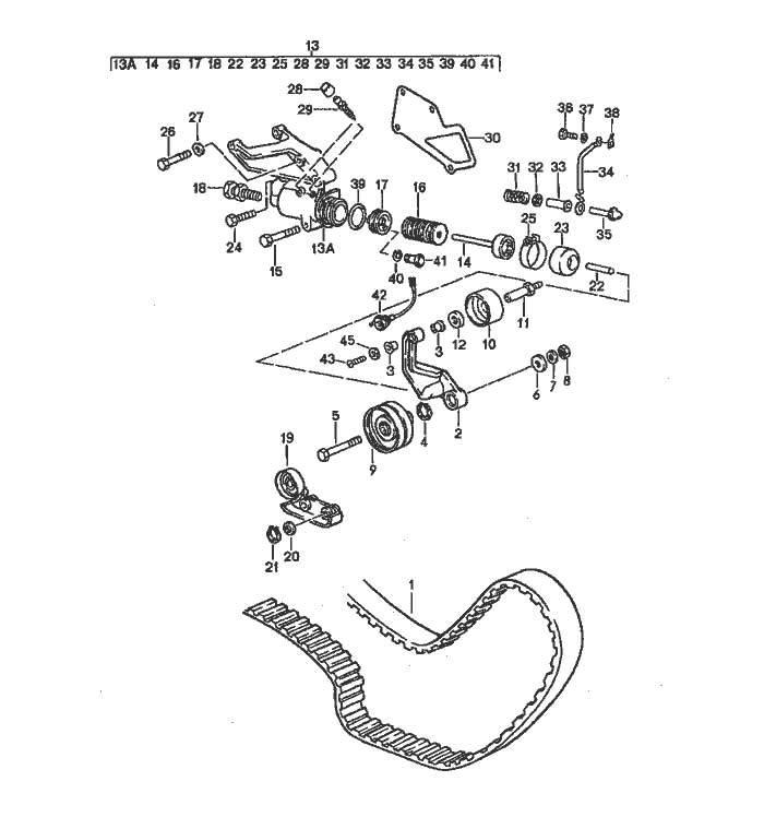 GENUINE PORSCHE 231230 Porsche® Timing Belt Tensioner