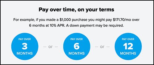 affirm options financing dog fence