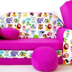 Sofa Bed For Child Decorative Pillows Black Leather Childrens Type W Fold Out Foam