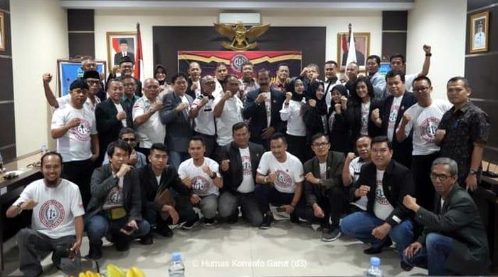 DPD PPHI Jabar Lantik Pengurus DPD PPHI Kabupaten Garut