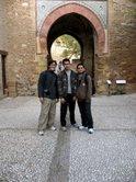 Djohan-Ihsan-Raiza di Alhambra Granada