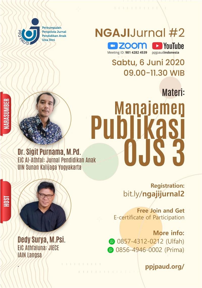 <center>Ngaji Jurnal #2 PPJ PAUD Indonesia</center>