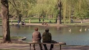 Good Will Hunting:scene at Boston Lake Park-Image Courtsey Miramax