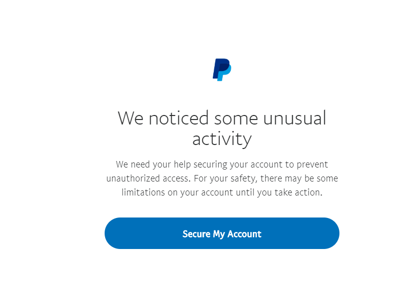 wow paypal is full