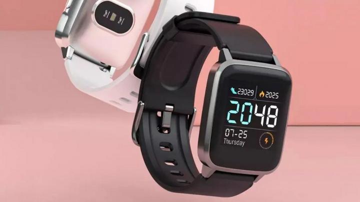 Smartwatch Xiaomi Haylou LS01 - sensor de batimentos cardíacos