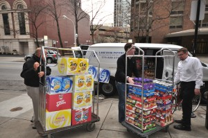Chicago Apartments, Food Drive, Giving Back