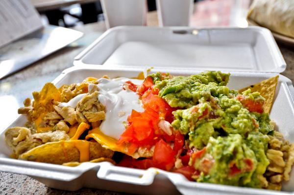 Chicago Apartments, River North Food, Taco Burrito King