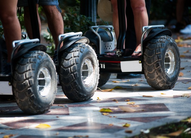 Chicago Apartments, Summer Activities, Segway Tour
