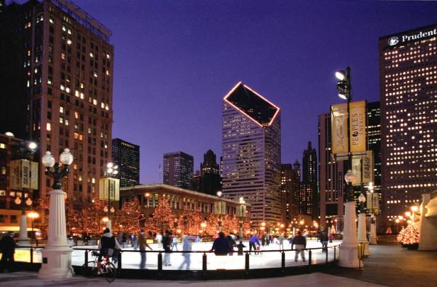 Chicago Apartments, New Year's Events, Millennium Park