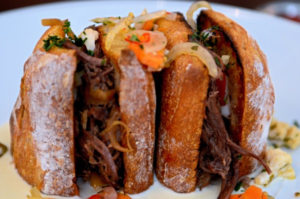 Chicago Apartments, Labriola Cafe and Ristorante, Short Rib Sandwich