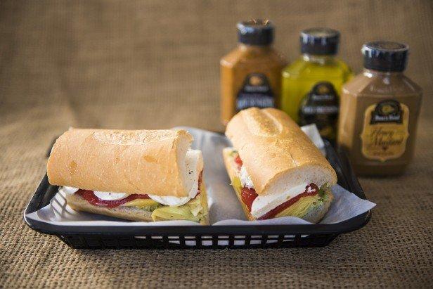 Chicago Apartments, National Sandwich Day, NY Delicatessen, Artichoke Sub
