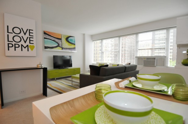 Chicago Apartments, Space Management