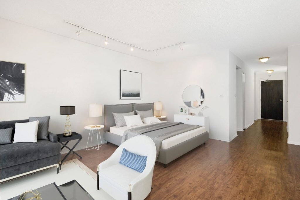 1111 N Dearborn Studio with Space Interior Chicago Apartments Gold Coast - 2