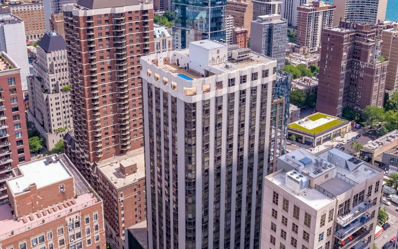 Chicago Apartments, Gold Coast, 1111 N Dearborn Building Contacts