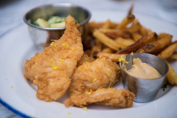 Chicago Apartments, Blue Door Kitchen & Garden, Great Lakes Fish & Chips