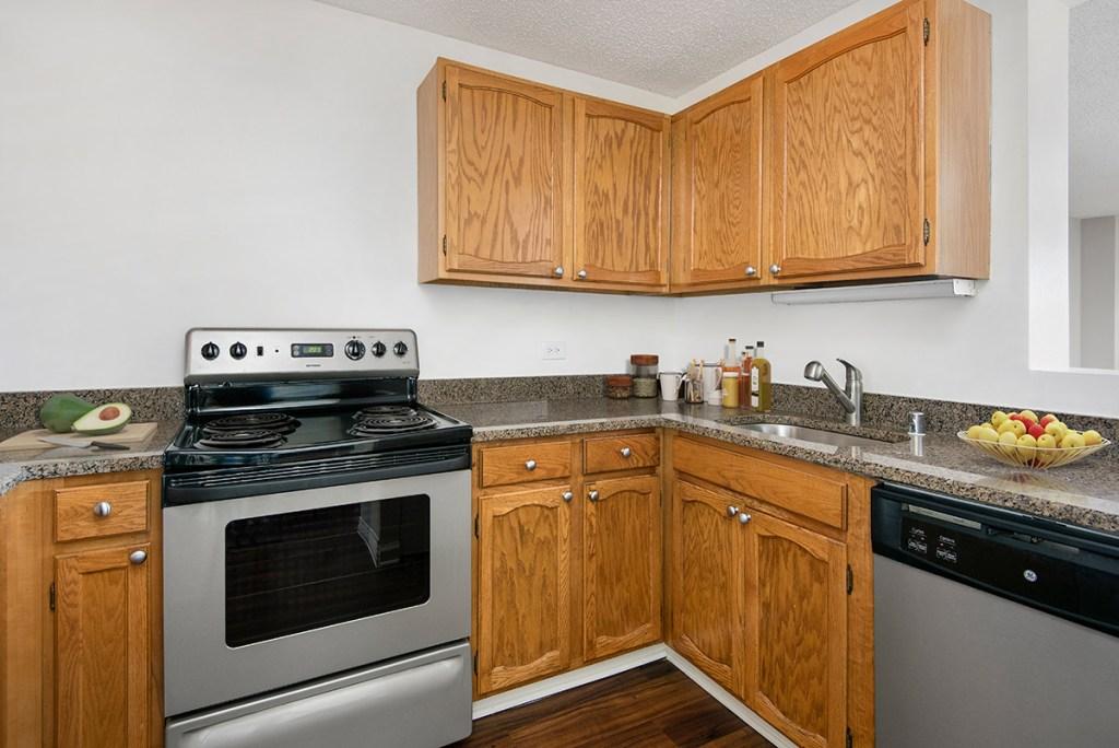 100 W Chestnut Kitchen Interior Chicago Apartments River North - 2