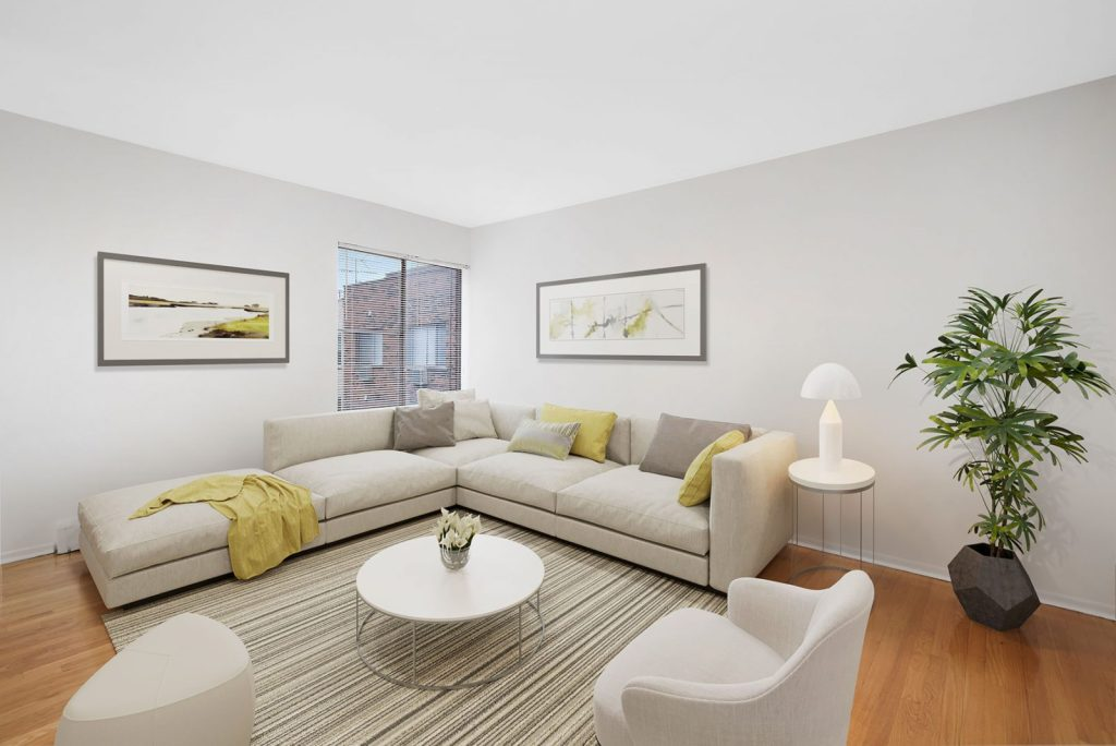 Chicago Apartments, Lakeview, 450 W Melrose Living Room