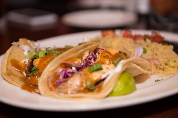 Chicago Apartments, Mike Ditka's, Fish Tacos