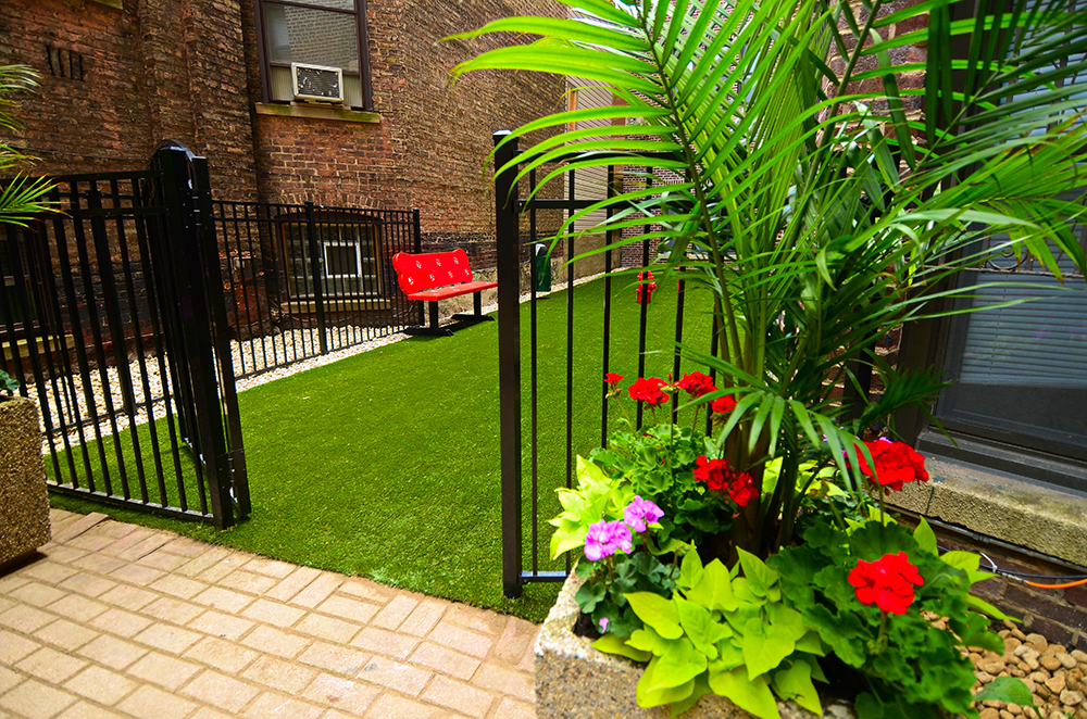 Chicago Apartments, Lakeview, 515 W Briar Dog Park