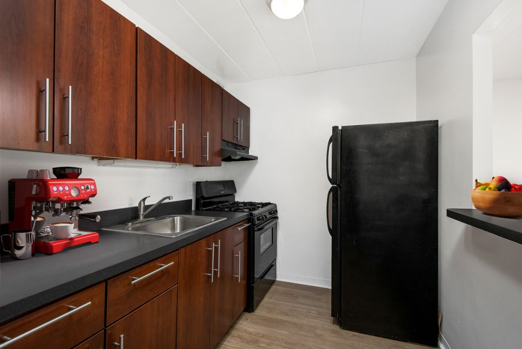 Chicago Apartments, Lakeview, 500 W Belmont Kitchen