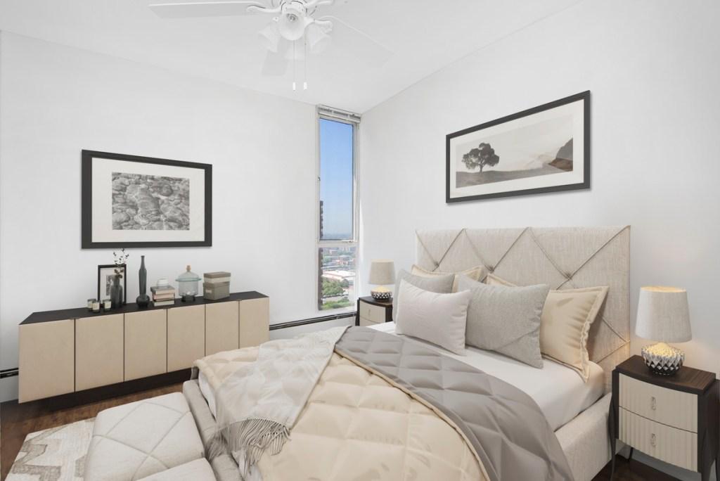55 W Chestnut Chicago Apartment Interior Bedroom 2