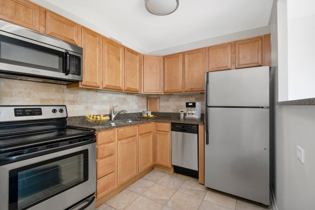 55 W Chestnut Chicago Apartment Interior Kitchen 2