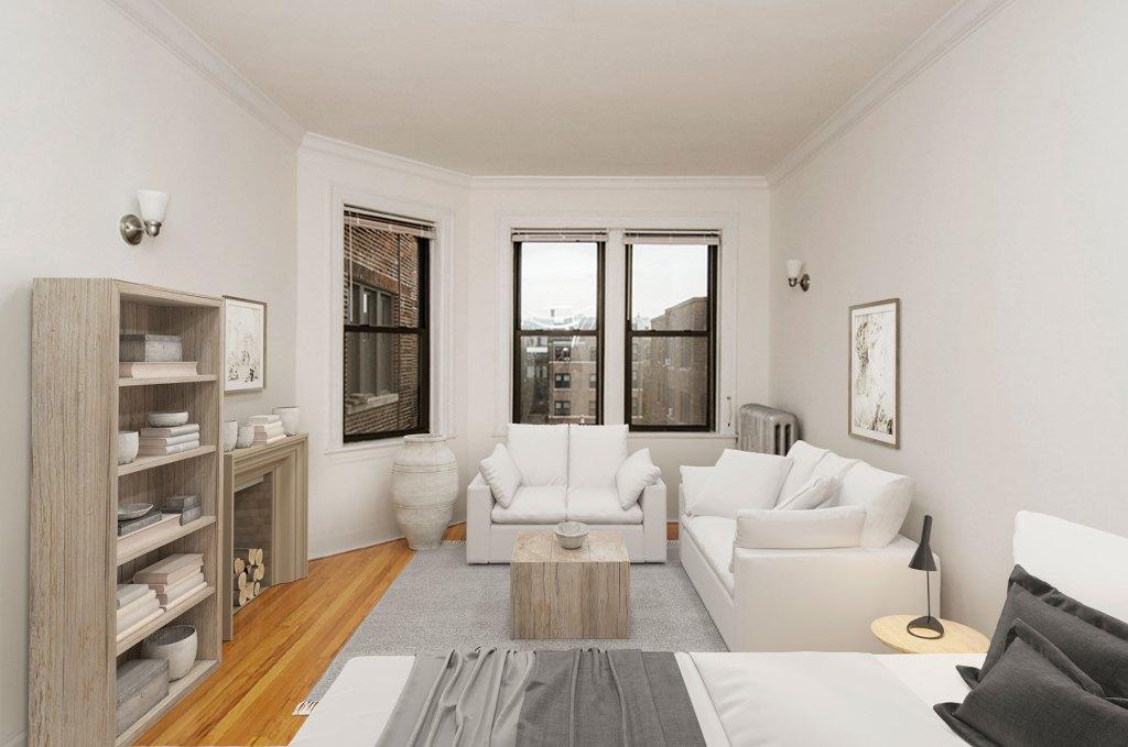 Chicago Apartments, Lakeview, 632 W Addison Studio