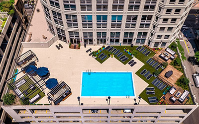 Chicago Apartments, River North, 750 N Rush Swimming Pool