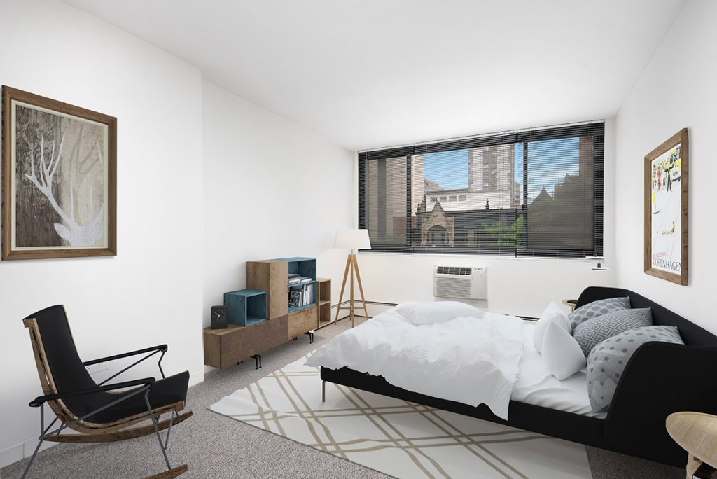 1330 N Dearborn Studio with View Interior Chicago Apartments Gold Coast - 1