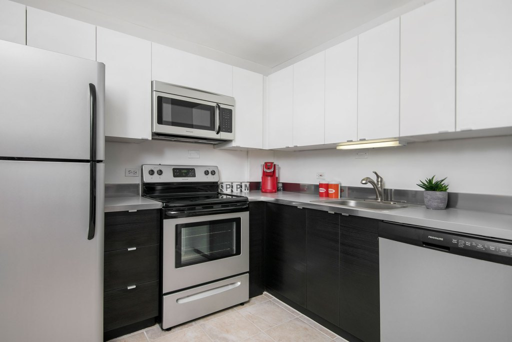 55 W Chestnut Kitchen Interior Chicago Apartments River North - 1