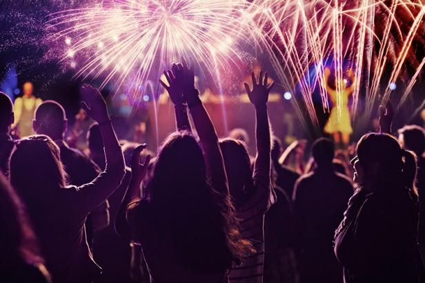 Chicago Apartments, 4th of July Fireworks, Glen Ellyn