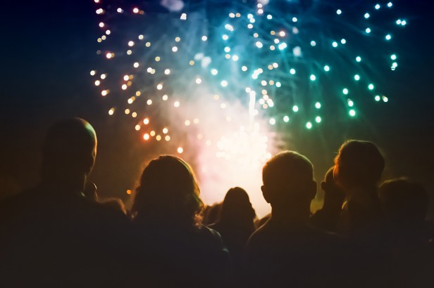 Chicago Apartments, 4th of July Fireworks, Itasca