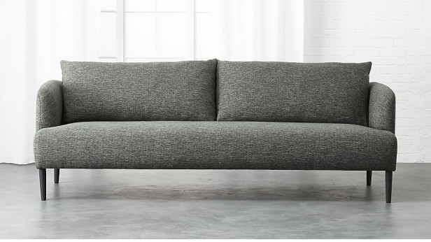 Chicago Apartments, Inexpensive Sofas, CB2 Ronan Sofa