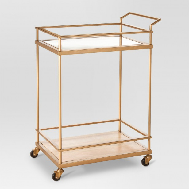 Chicago Apartments, Target Home Decor, Bar Cart
