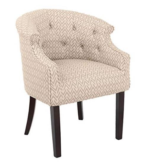 Chicago Apartments, Amazon Ravenna Home Decor, Tufted Patterned Accent Chair