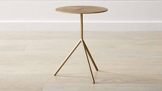 Chicago Apartments, Crate & Barrel, Accent Table