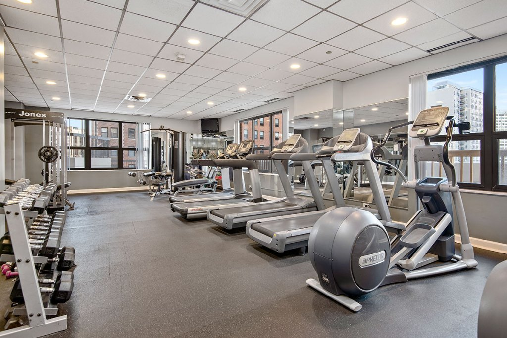 1133 N Dearborn Interior Fitness Room Chicago Apartments Gold Coast - 1