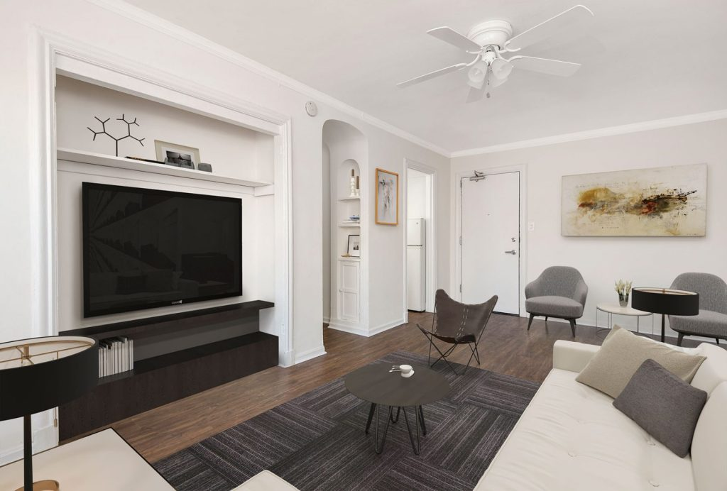 Chicago Apartments, Lakeview, 515 W Briar One Bedroom