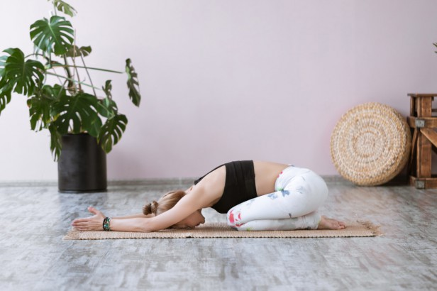 Chicago Apartments, Sleeping Tips, Child's Yoga Pose