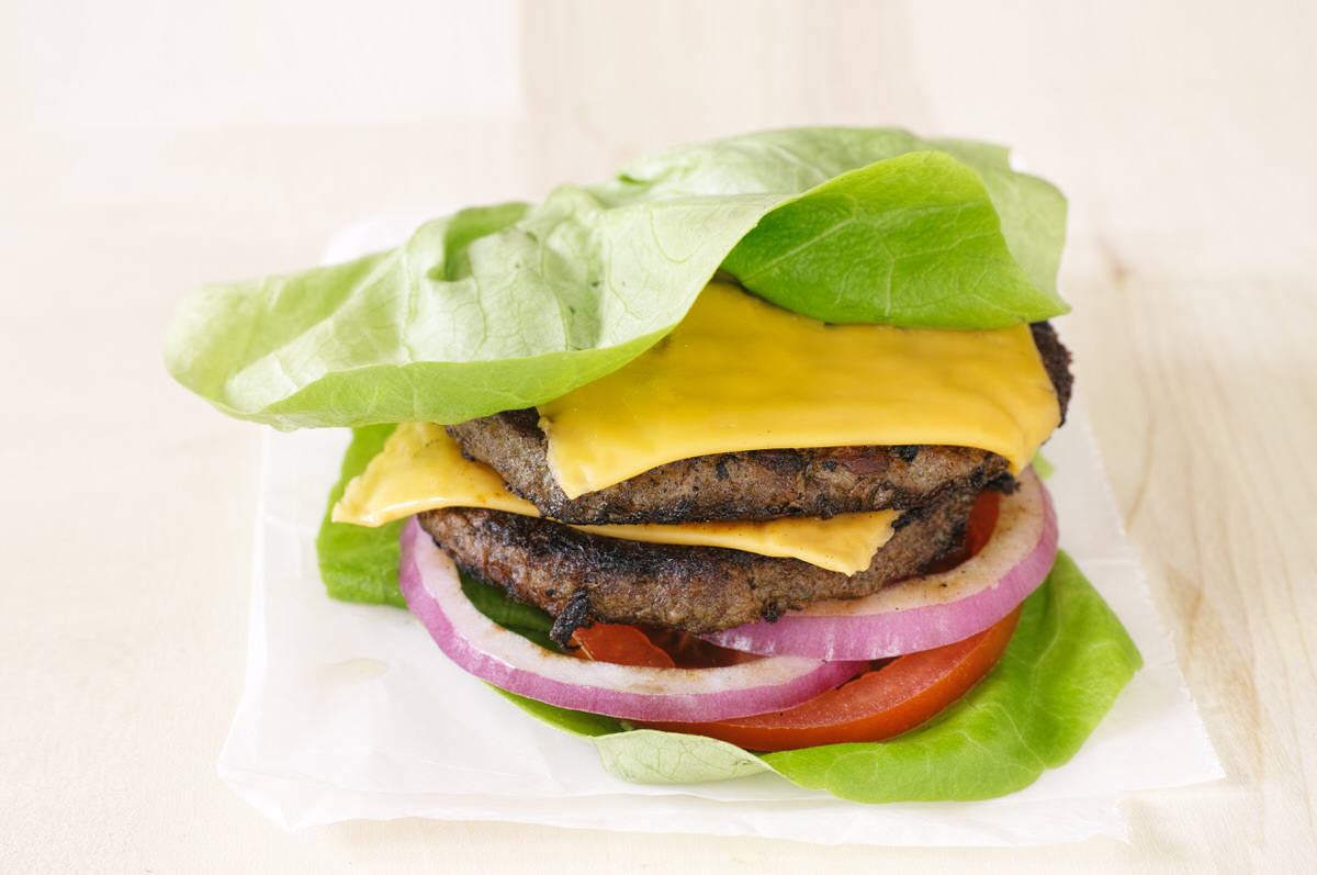 Chicago Apartments, 4th of July Recipes, Lettuce Wrap Burger Recipe