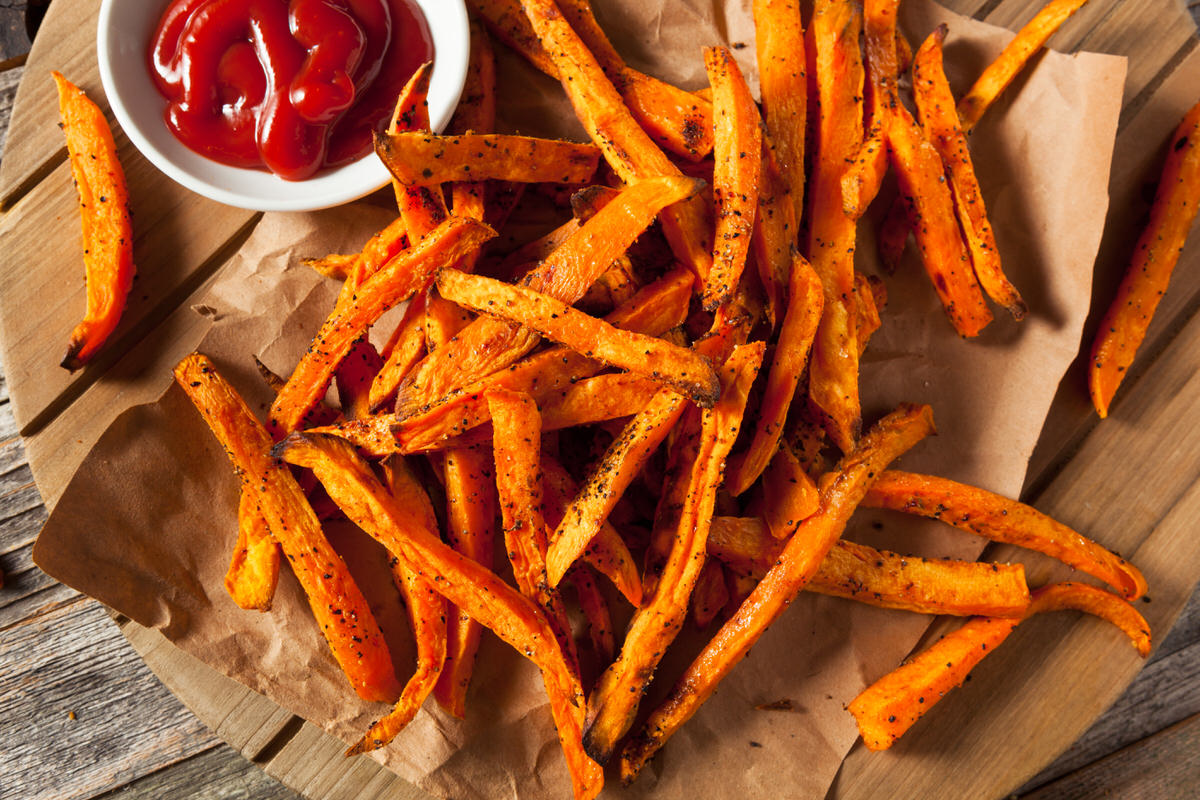 Chicago Apartments, Vegetarian Summer Recipes, Sweet Potato Fries Recipe