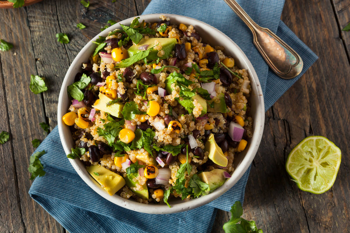 Chicago Apartments, Vegetarian Summer Recipes, Black Bean & Corn Quinoa Recipe
