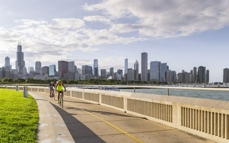 Where to Ride Your Bike in Chicago