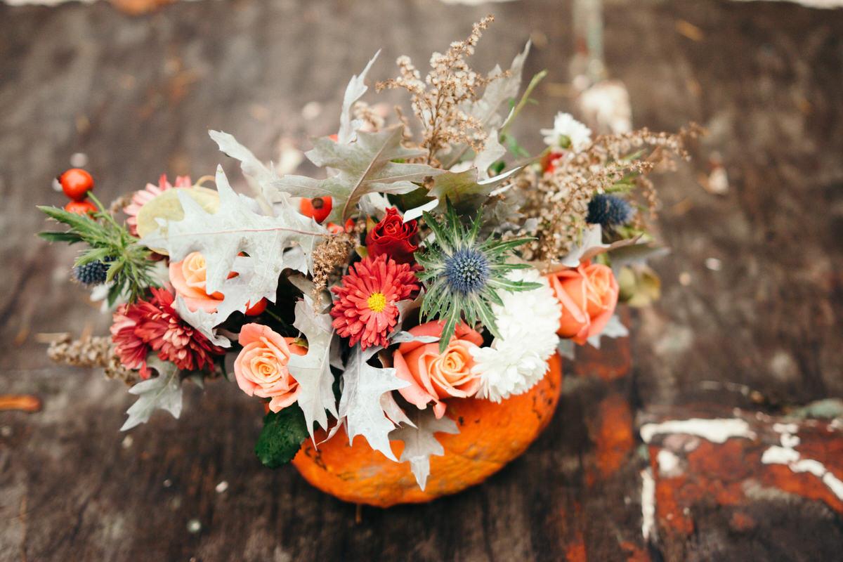 Fall Floral Arranging
